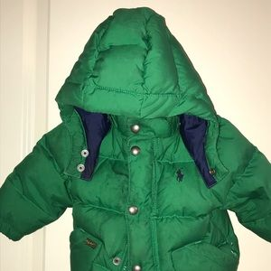 Ralph Lauren Quilted Winter Coat